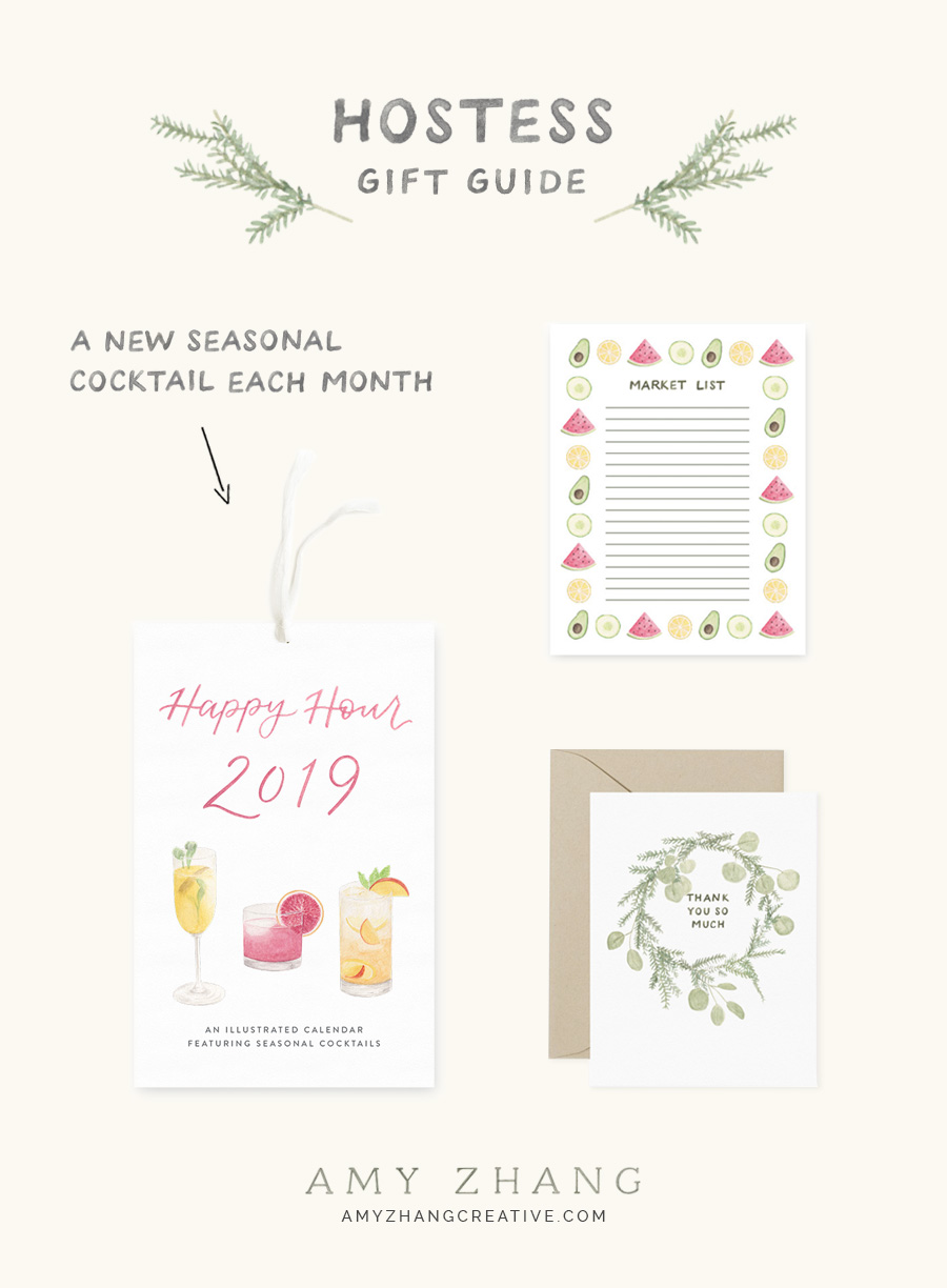 amy zhang creative | hostess gift guide