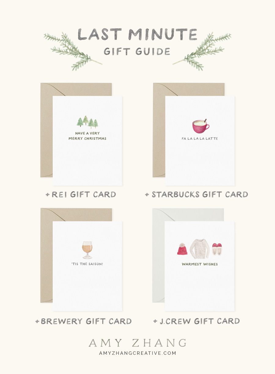 amy zhang creative | last minute gift guide