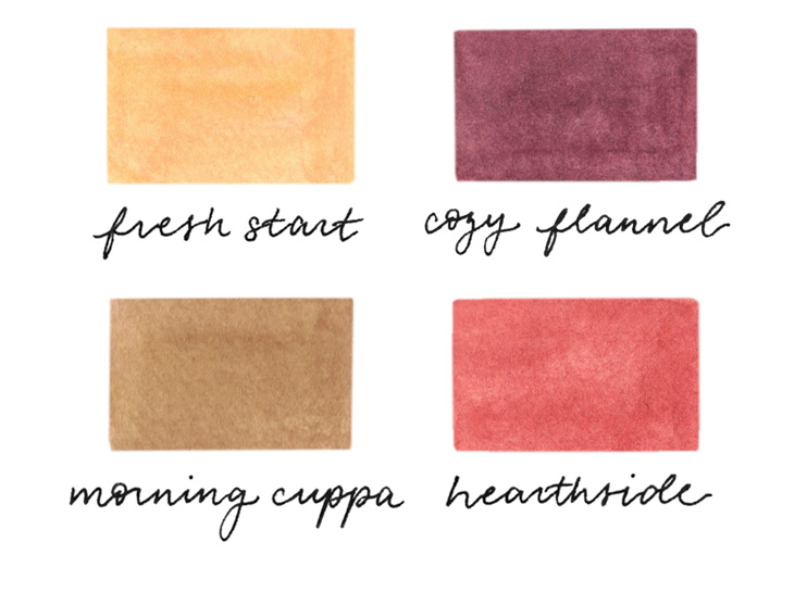 amy zhang creative | january color palette