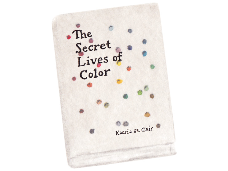 amy zhang creative | the secret lives of color | book illsutration