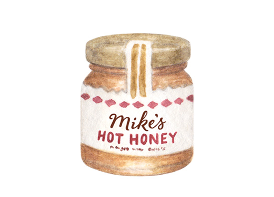 amy zhang creative | mike's hot honey illustration | valentine's day gift guide