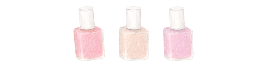 amy zhang creative | nail polish illustration | galentine's day gift guide