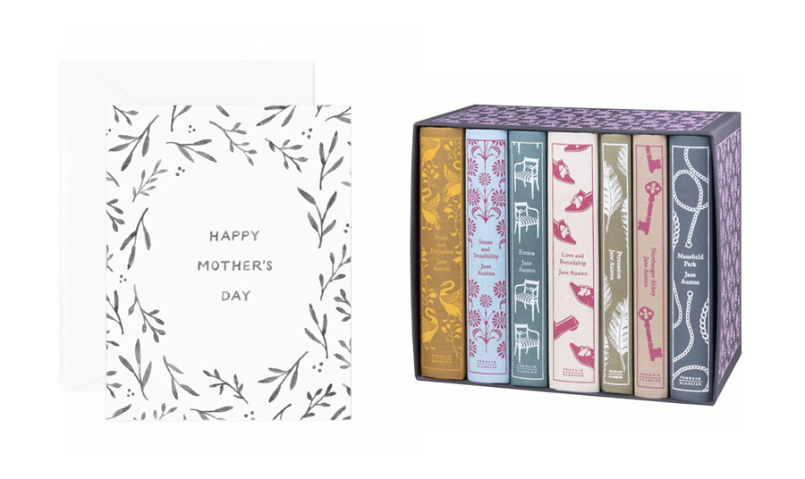 amy zhang creative | happy mothers day card | botanic border mother's day card