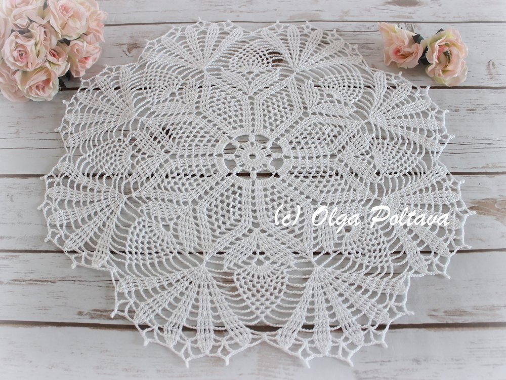 Pineapple Bouquet Doily