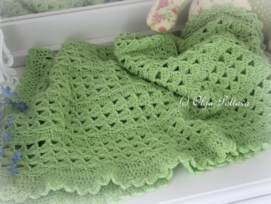 Scallops Baby Afghan