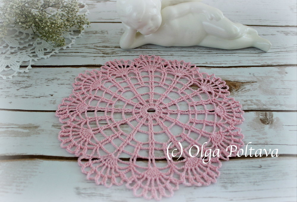 Small Beginners Doily Easy And Quick To Make Olga Poltava
