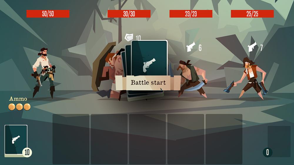 Pirates Outlaws - Screenshot - Battle