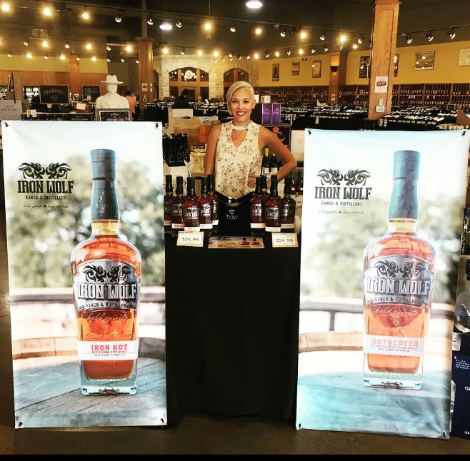 Cassie at Twin Liquor Galleria Tasting - Feb2018.jpeg