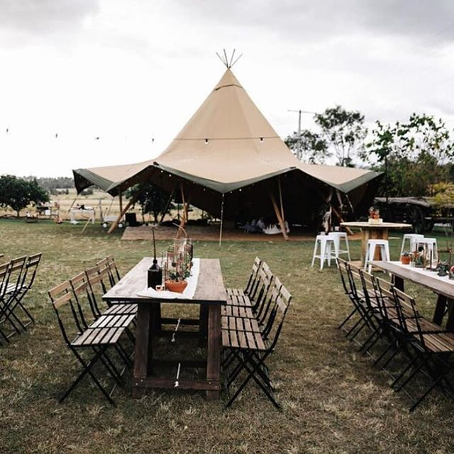 Another great setup from our friends up north! - @goldcoast_tipis 📷 @megankelly.photo