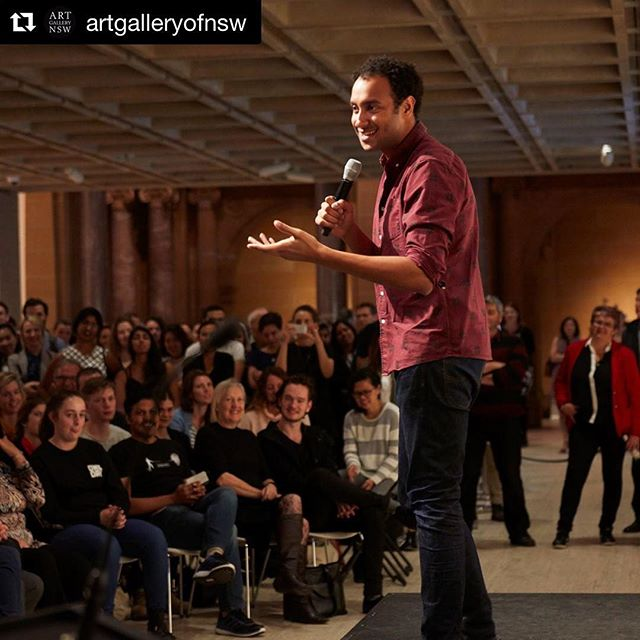 It's our favourite day of the week! That's right, it's Wednesday and we've got your night sorted! @mattokine joins @artgalleryofnsw for the last of the #latenightlaughs of this year's #archibaldprize. Come down early and grab yourselves a well-deserved drink and enjoy some delicious eats from our new spring menu! See you soon! #whatson #sydneyeats #laughteristhebestmedicine #wednesdayisthenewfriday
