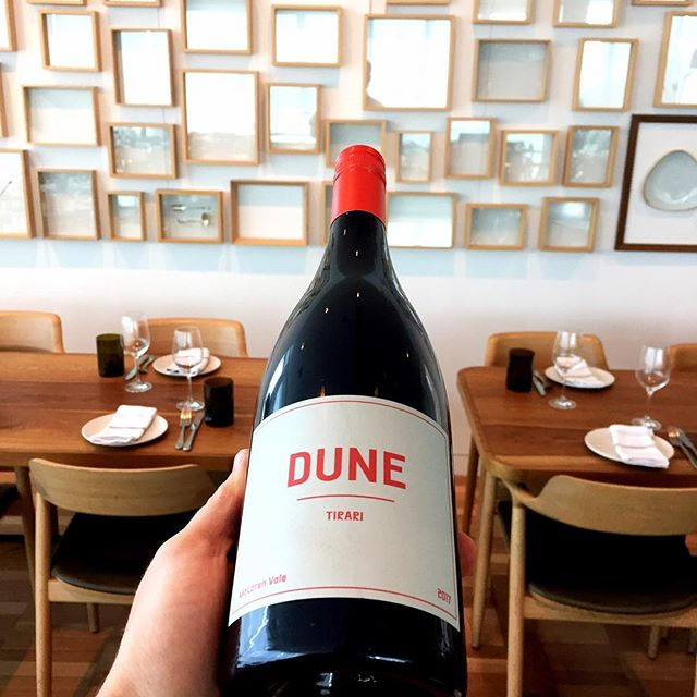 A harmonising blend of Nero D'Avola, Negroamaro, and Shiraz - a mouth full of sweet amaro with feathery tannins 🍇🍷 @dunewine #mclarenvalewine #whattodrink #sundaylunch