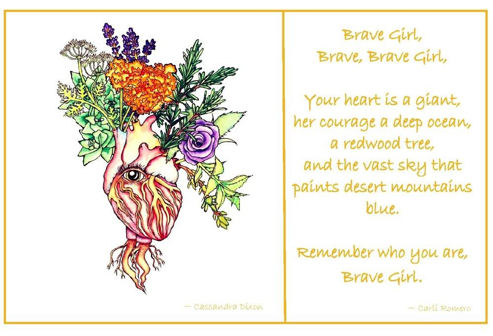 Brave Girl Print 8