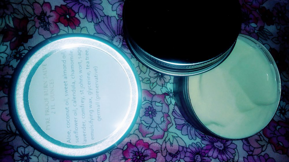 2 oz. Pyre Proof Burn Salve