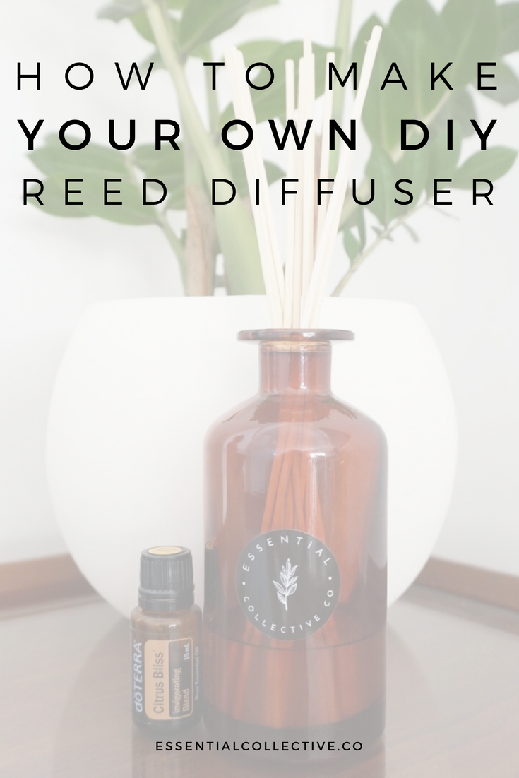 How to Make Your Own Reed Diffuser with Essential Oils