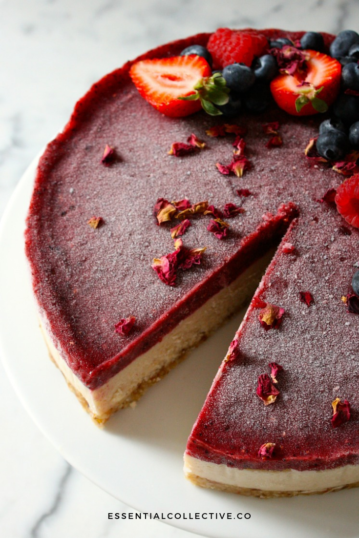 Raw Cheesecake - vegan, gluten free and delicious!