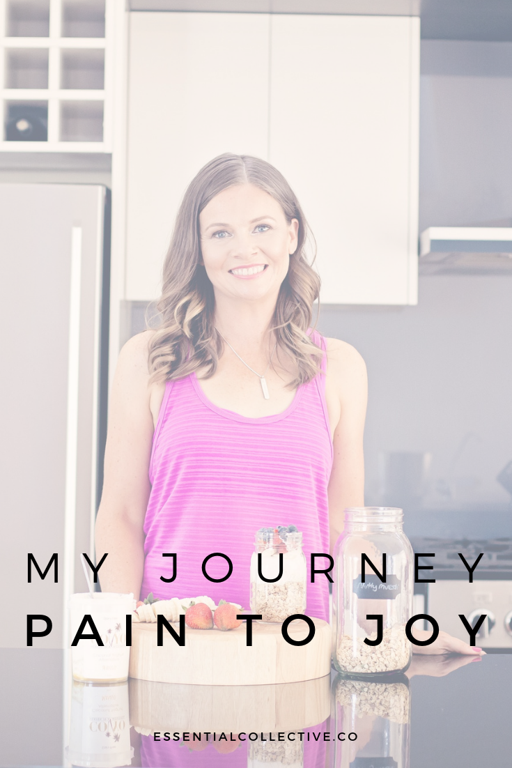 A Personal Journey - From Pain to Joy