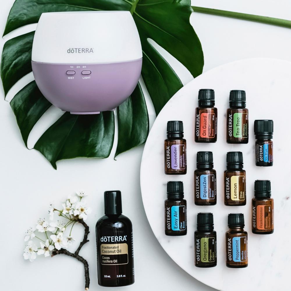 Essential Oils for the Essential Detox
