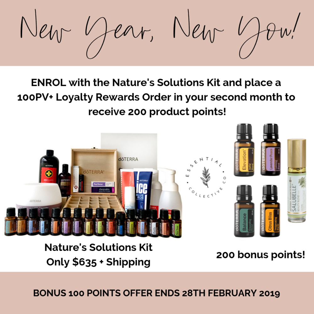 doTERRA Nature's Solution Kit - the perfect way to switch over to a low-tox home.