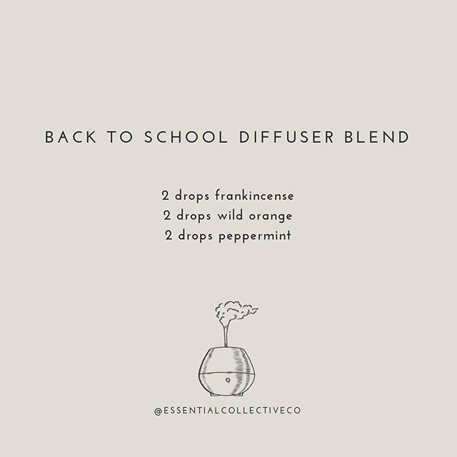 The kids are back to school👏👏👏 ⠀⠀⠀⠀⠀⠀⠀⠀⠀ Here's a diffuser blend to help both the kids and mama get going! . . . . . #naturalwellness #naturalmama #naturalliving #plantmagic #toxinfree #nutritioncoach #familyhealth #empoweredhealth #healthyhome #healthyfamily #doterraau #doterraessentialoils #doterraaunz #holisticlifestyle #positiveliving #iinhealthcoach #healthblog #letfoodbethymedicine #nourishyourself #consciouslifestyle #essentialoilsrock #doterralife #healthyhome #doterralove #wellnessblogger #wellnessblog #cleanliving #nontoxicliving #backtoschool #chemicalfreeliving