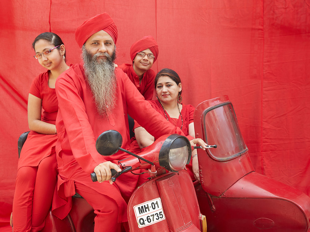 Gurbaxsingh and family