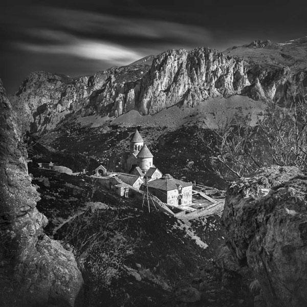 Noravanq Monastery by Nune Karamyan