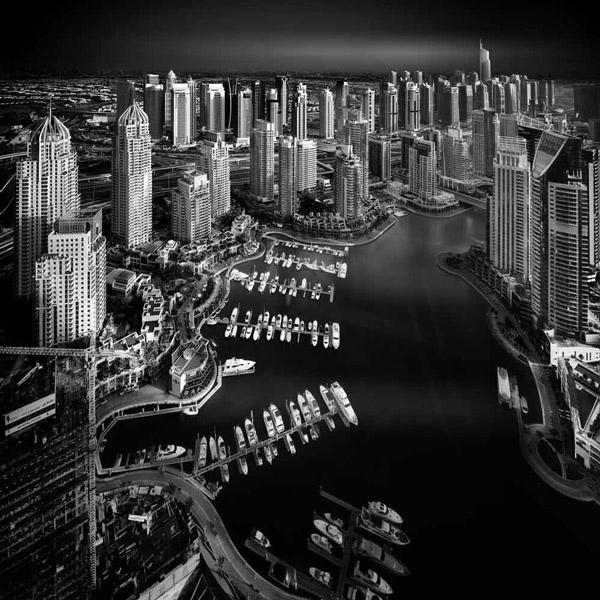 Dubai Marina by Nune Karamyan
