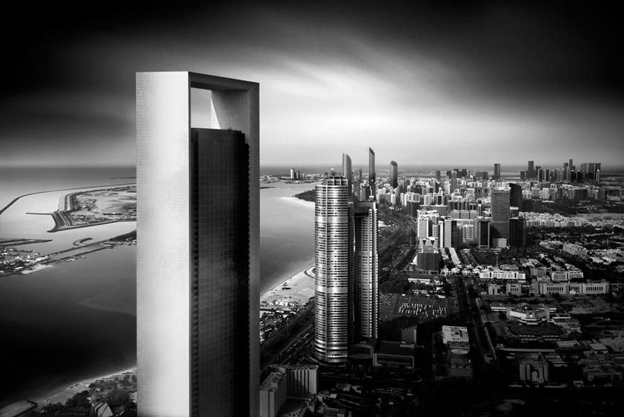 Risen from the Sands; Abu Dhabi by Nune Karamyan