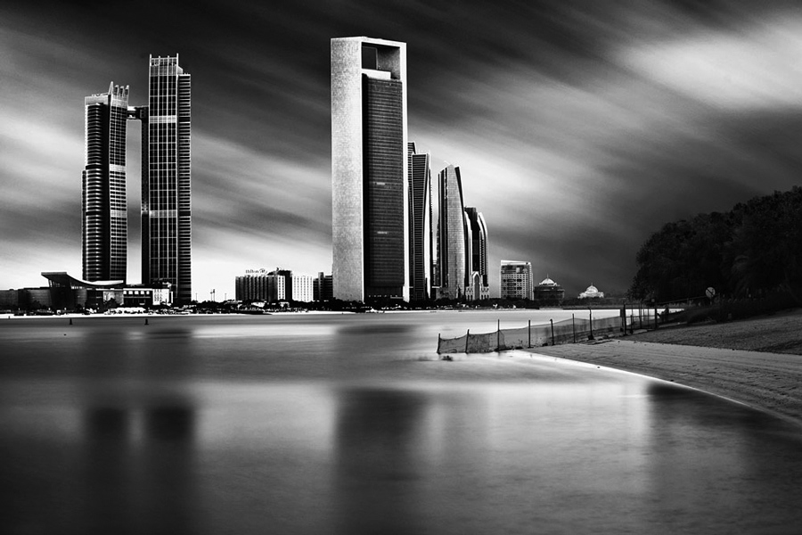 Abu Dhabi Towers by Ted Andreasian