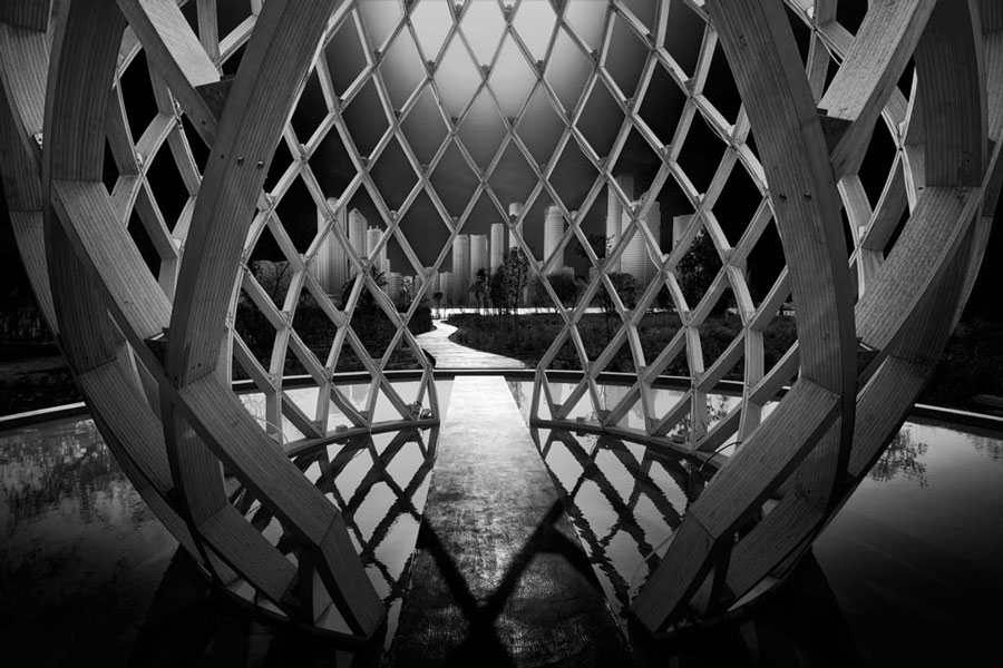 Through I by Nune Karamyan