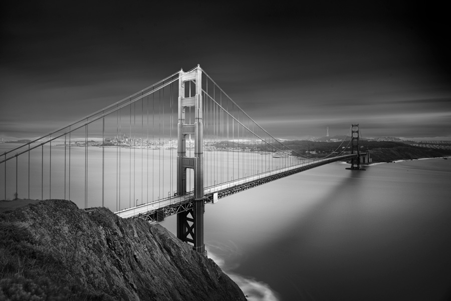Golden Gate by Nune Karamyan