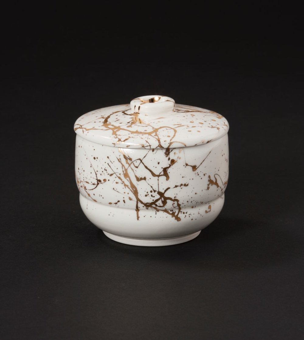 Copy of BUSHIDO SERIES COVERED JAR 2 - 7CM X 8.5CM