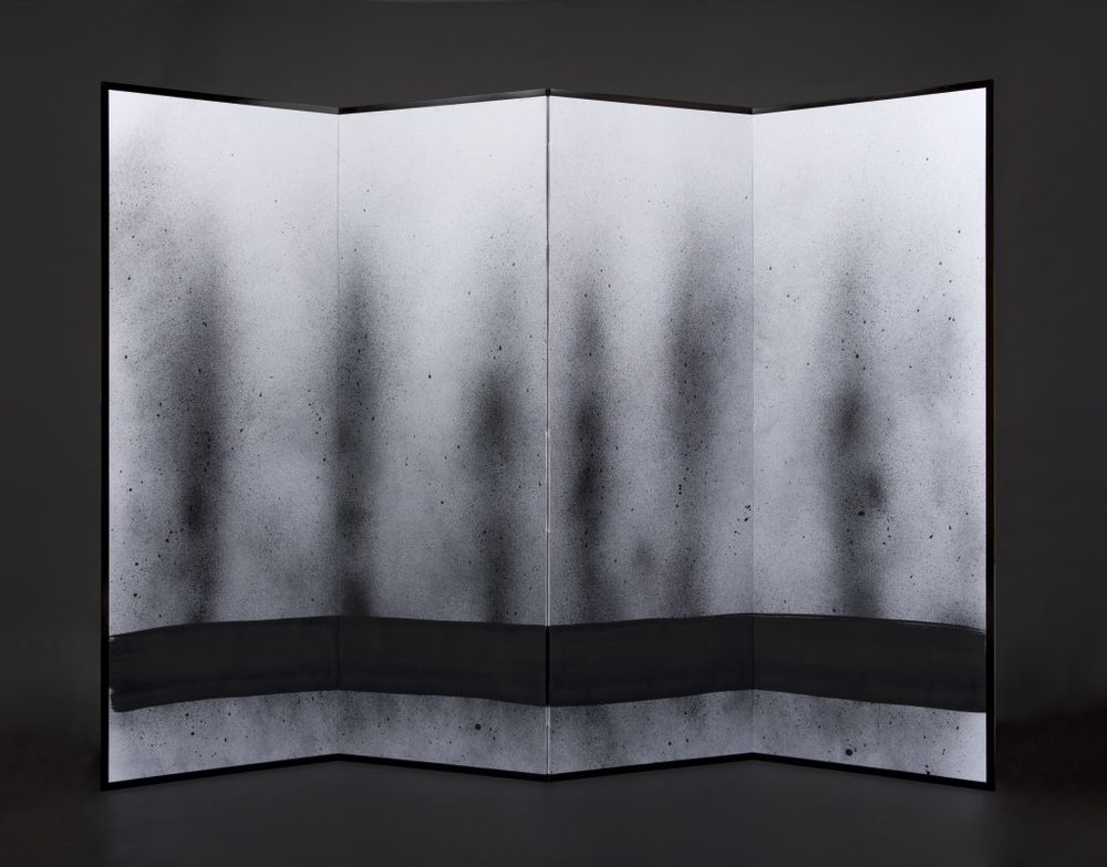 ENDLESS JOURNEY - FOUR PANEL SCREEN 179CM X 240CM