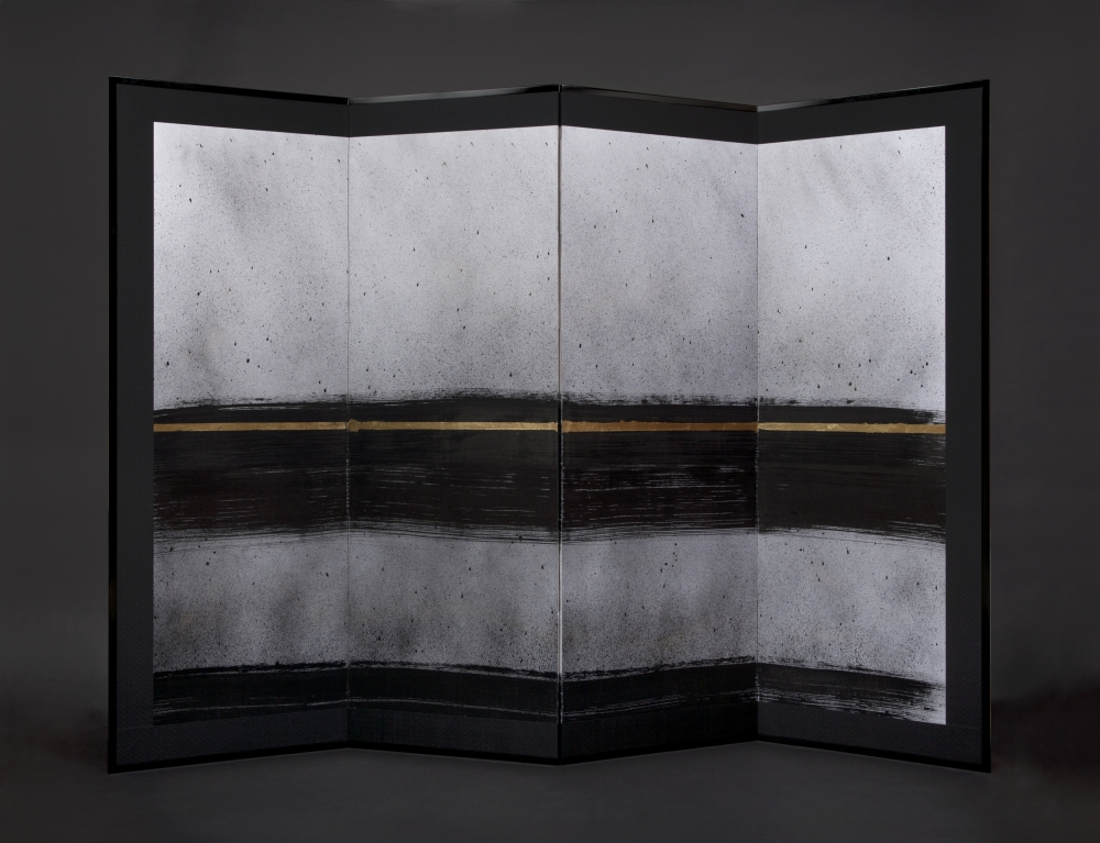 RITUAL - FOUR PANEL SCREEN - 179CM X 240CM