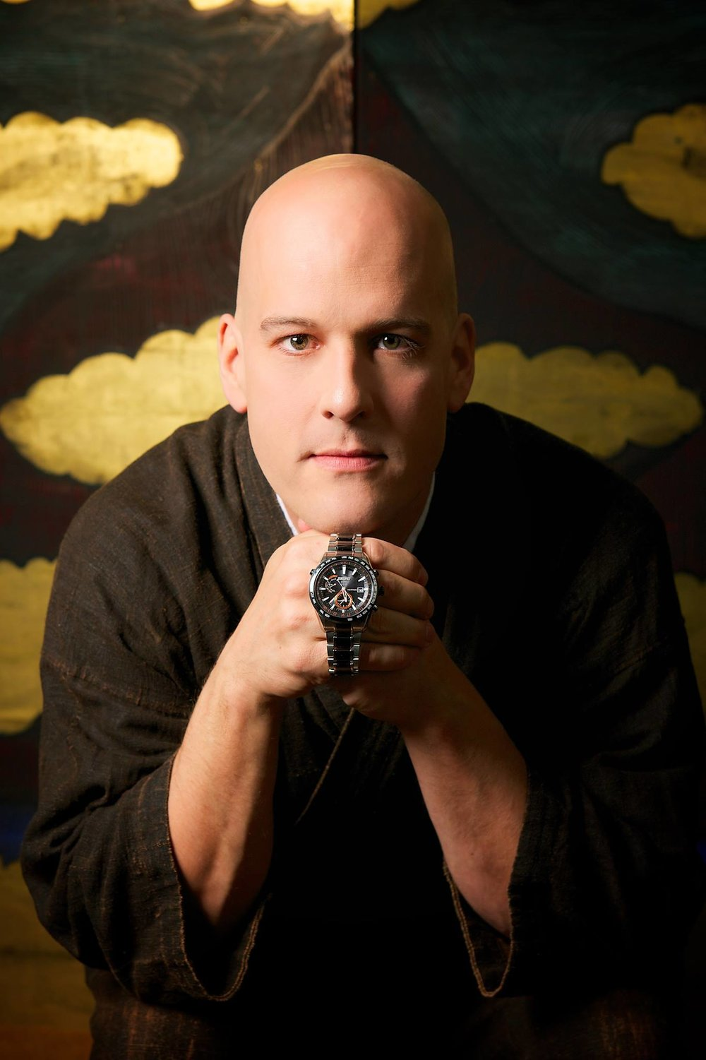 "David Stanley Hewett is proud to be named the GLOBAL SEIKO ASTRON AMBASSADOR for the Seiko Watch Company. Please click the link below to visit the Seiko Facebook page!  https://www.facebook.com/Seiko.Japan   David Hewett is one of the best-known foreign artists in Japan. Hewett creates Japanese Traditional Screens and pottery as well as designing Obis and Yukatas. Hewett has made it his goal to introduce Japanese craftsmanship to the world.  Hewett says: ""The Japanese attention to detail and focus on excellence in traditional arts such as pottery and painting to high-tech design as with the Seiko Astron is what brought me to Japan to study 19 years ago and what will keep me here forever.  I am thrilled to be a Seiko Ambassador and share with the world, Seiko's excellence in design and craftsmanship."""