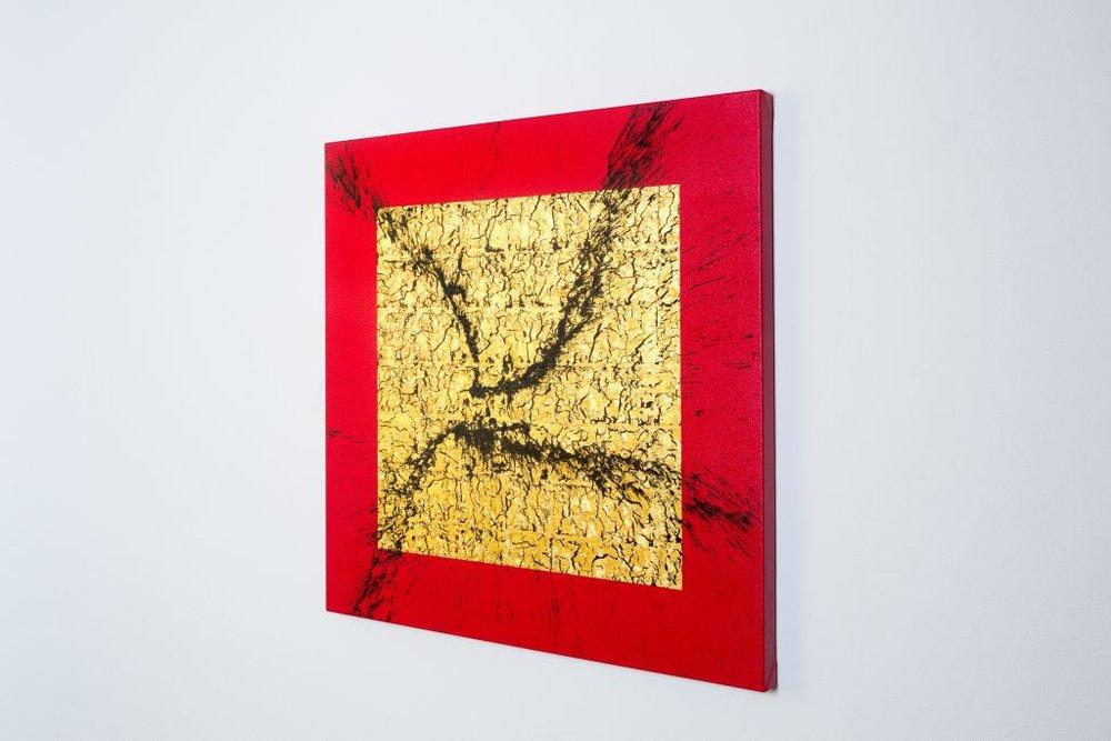 PERSERVERE - KANAZAWA GOLD LEAF AND ACRYLIC - 100CM X 100CM.jpg
