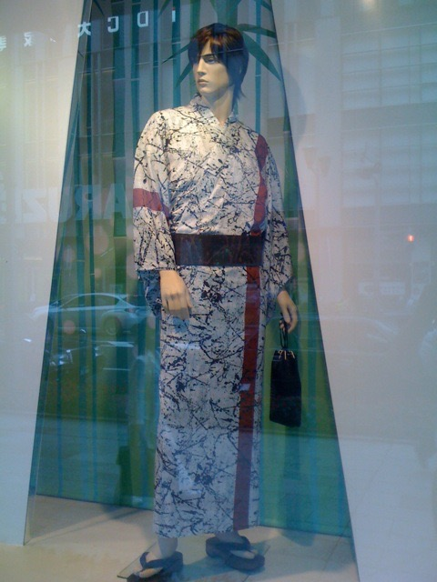 HEWETT DESIGNED MEN'S YUKATA AT TAKASHIMAYA.jpg