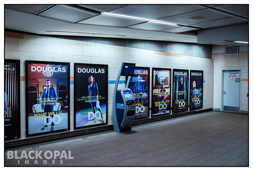 Douglas College ad campaign.