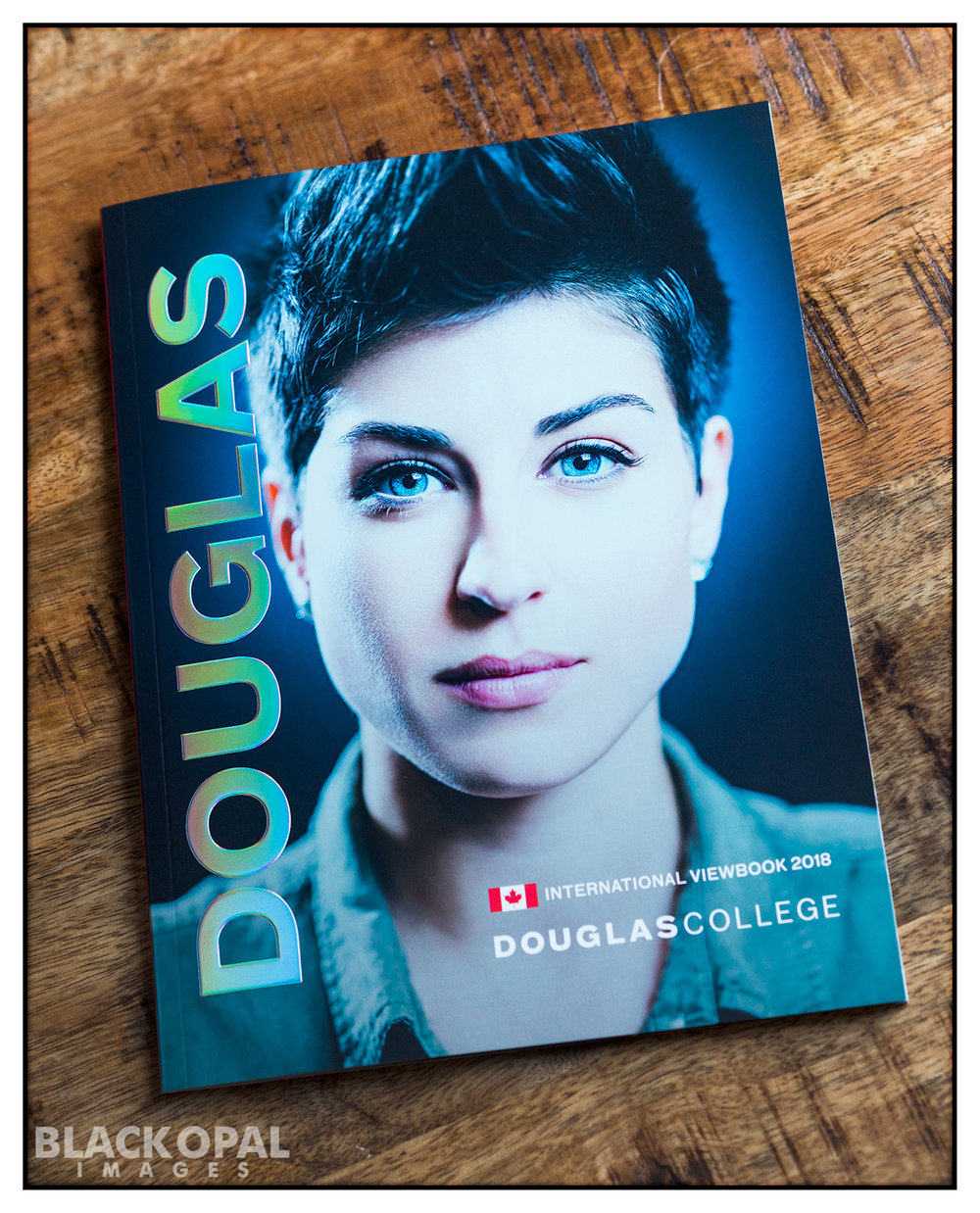 Douglas College International Viewbook cover photo - 2018