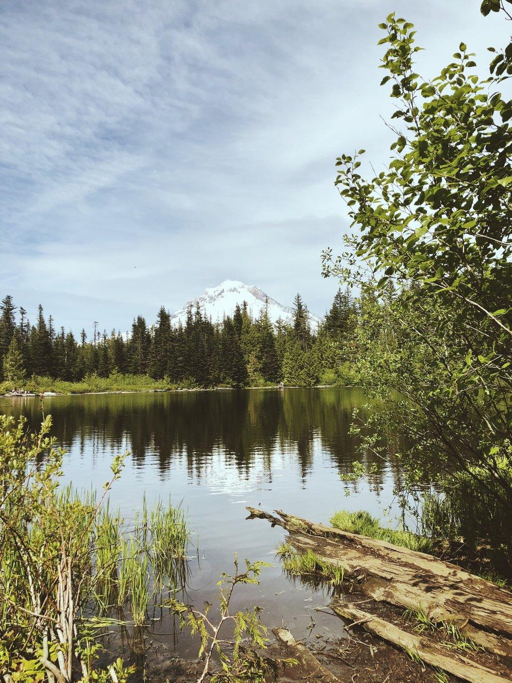 Mirror Lake! Pretty obvious why it got its name.