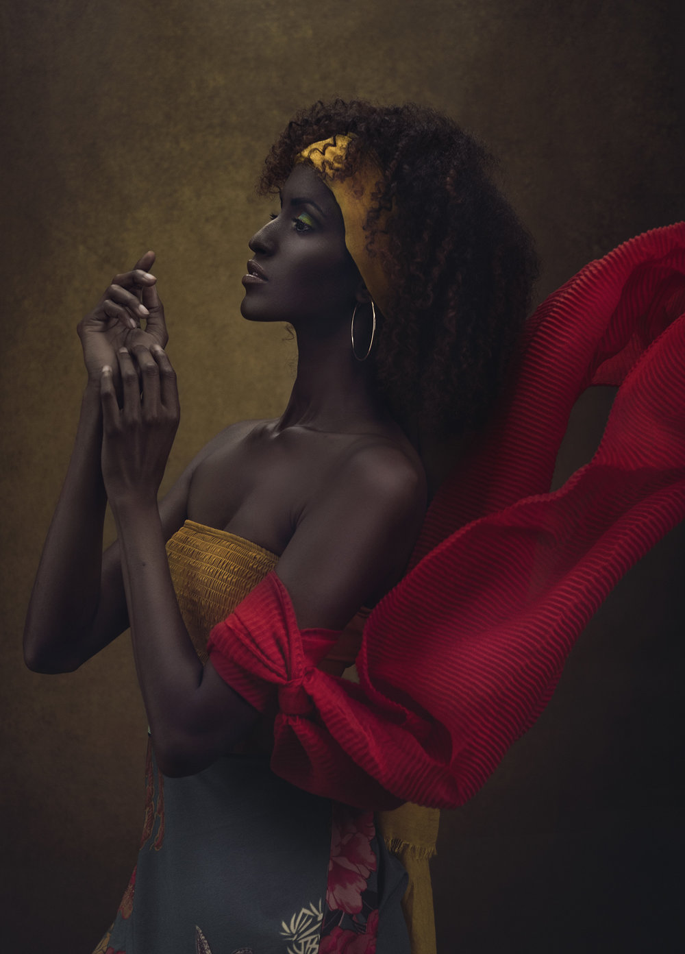 Photographer:  SJ Van Zyl  Model:  Amina  Makeup & Styling:  Carissa Bosman