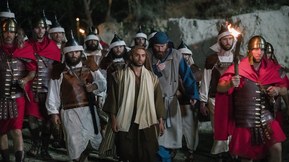 CRIMSON - (dir: Tammy Lane/USA/11 min)The story develops as we see the principal characters, Peter, Judas, and Malchus process the harrowing account of Jesus' road from the garden to the cross. Each life is not only interwoven with Jesus, but also with each other throughout this story of a life given for a life saved, should they choose to accept it.