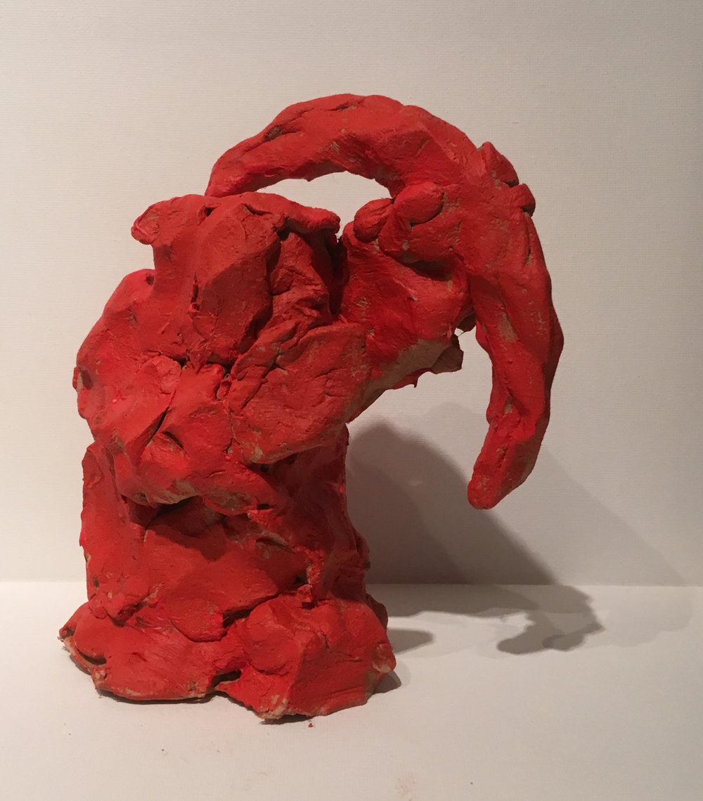 Red archer  air drying terracotta  £350  Fragile