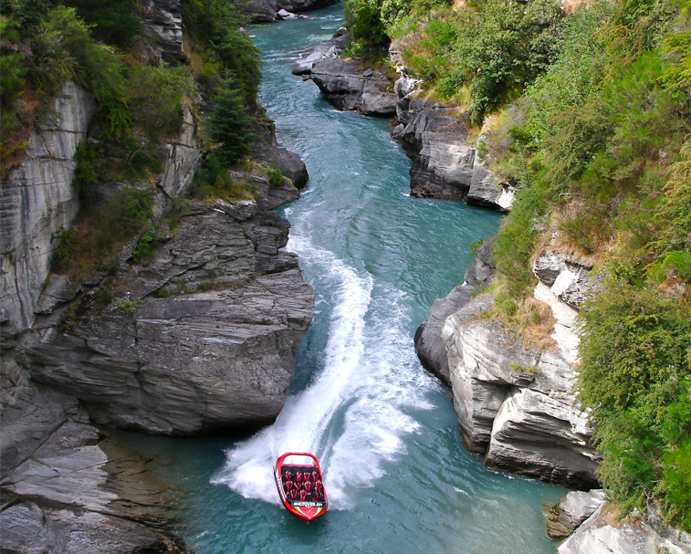 SHOTOVER JET   3 Arthurs Point Rd, Arthurs Point   Reaching speeds of over 85 kph through the narrow Shotover Canyons, Shotover Jet is New Zealand's most thrilling jet boating ride.