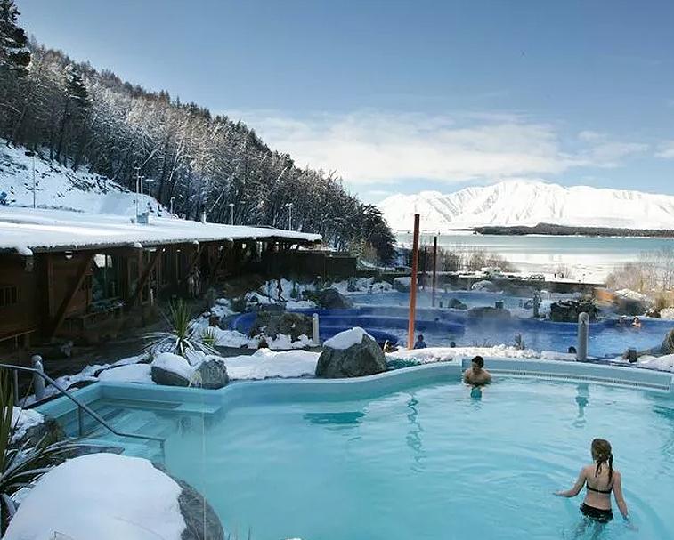 TEKAPO SPRINGS   6 Lakeside Dr, Lake Tekapo   Perfect for a relaxing soak.