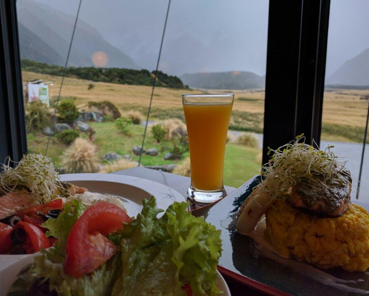THE CHAMOIS   Aoraki Mount Cook Village   Whilst lacking a little in atmosphere, has very good food at a reasonable prices and is where all the locals go for a meal and drink.