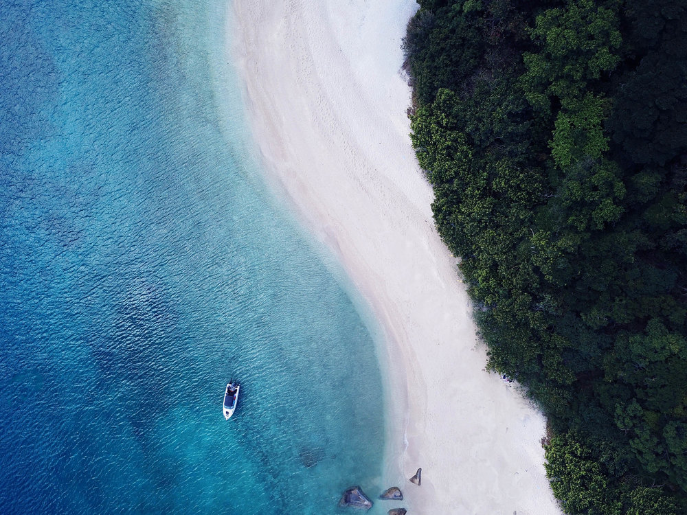 Fitzroy Island drone pic