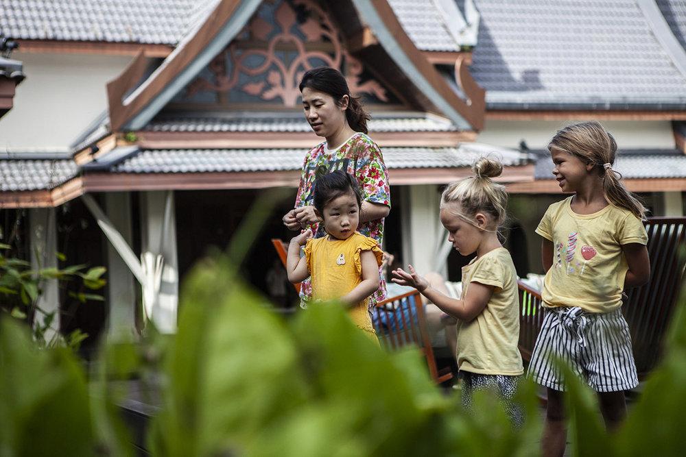 Thailand Sweden travel