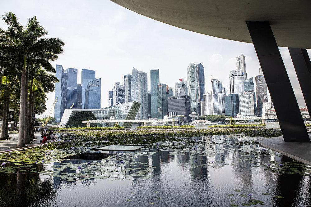 Singapore resa med barn