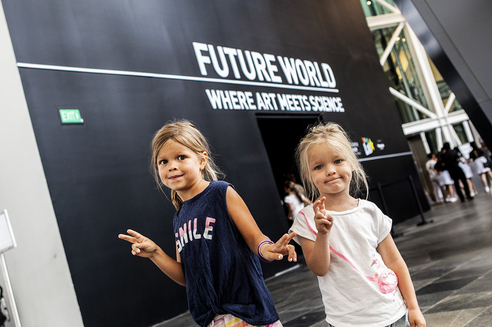 Future world Museum of ART Singapore