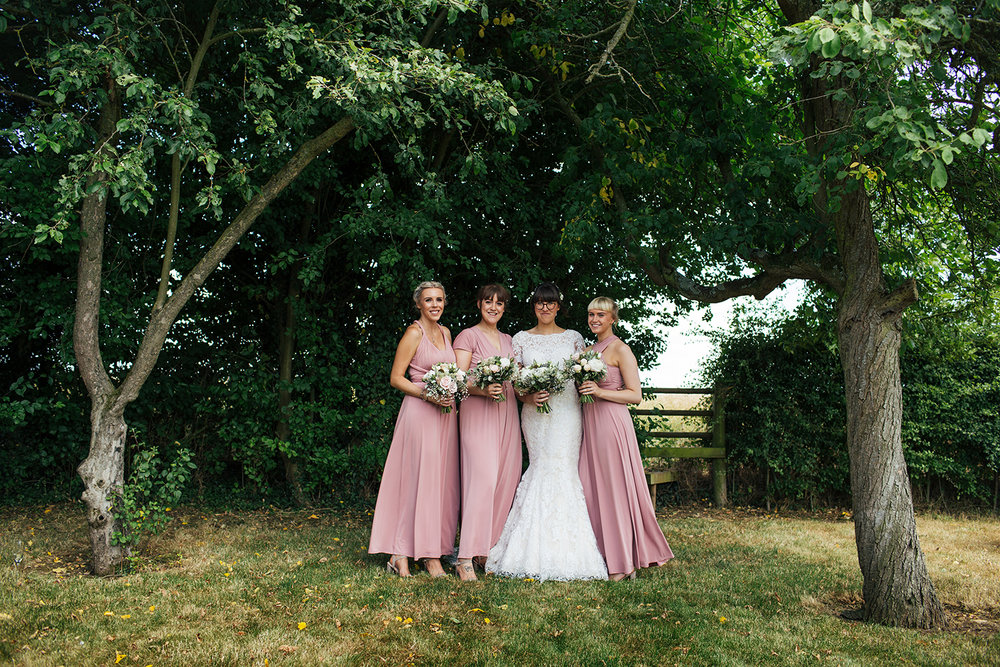 Bridesmaids at Manor Hill House